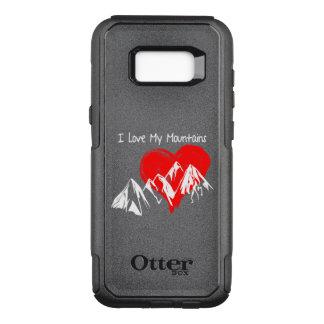 Coque Samsung Galaxy S8+ Par OtterBox Commuter J'aime mes montagnes !