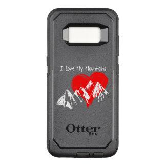 Coque Samsung Galaxy S8 Par OtterBox Commuter J'aime mes montagnes !