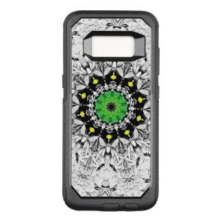 Coque Samsung Galaxy S8 Par OtterBox Commuter Kaléidoscope noir et blanc