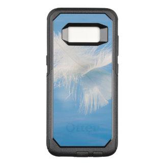 Coque Samsung Galaxy S8 Par OtterBox Commuter La plume blanche réfléchit sur l'eau | Seabeck, WA