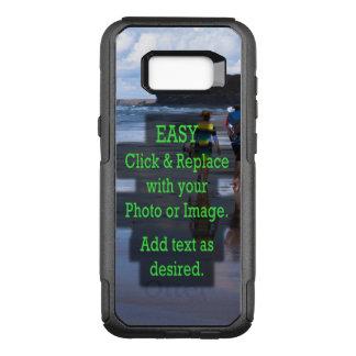 Coque Samsung Galaxy S8+ Par OtterBox Commuter Le clic simple et remplacent l'image pour créer