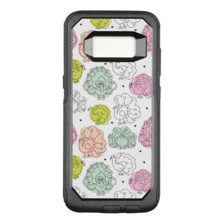 Coque Samsung Galaxy S8 Par OtterBox Commuter le paon badine le cru de papier peint
