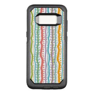 Coque Samsung Galaxy S8 Par OtterBox Commuter Le résumé barre le motif vertical