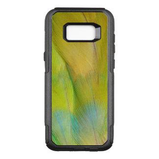 Coque Samsung Galaxy S8+ Par OtterBox Commuter Le vert a dirigé le perroquet horizontal