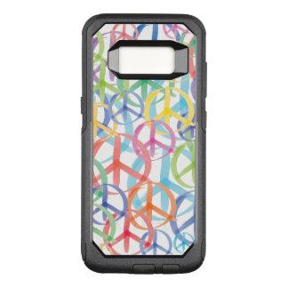 Coque Samsung Galaxy S8 Par OtterBox Commuter Les nombreuses couleurs des signes de paix