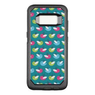 Coque Samsung Galaxy S8 Par OtterBox Commuter Les oiseaux modèlent le bleu