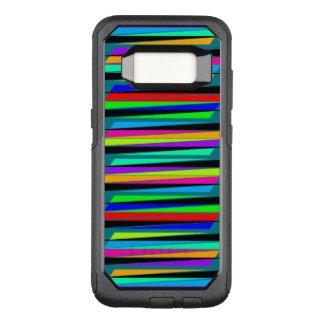 Coque Samsung Galaxy S8 Par OtterBox Commuter Lignes colorées abstraites