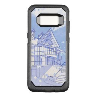 Coque Samsung Galaxy S8 Par OtterBox Commuter maison : aspiration d'aquarelle