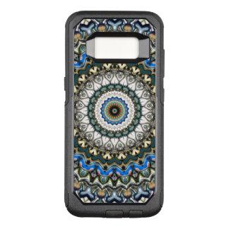 Coque Samsung Galaxy S8 Par OtterBox Commuter Mandala coloré fleuri