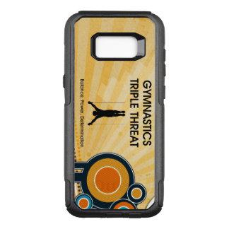 Coque Samsung Galaxy S8+ Par OtterBox Commuter Menace SUPÉRIEURE de triple de gymnastique