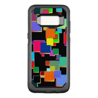Coque Samsung Galaxy S8 Par OtterBox Commuter Minimalistes carrés avec le gradient de découpe