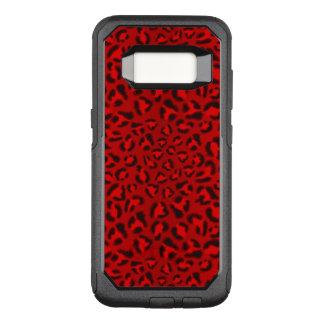 Coque Samsung Galaxy S8 Par OtterBox Commuter Modèle rose de texture de léopard