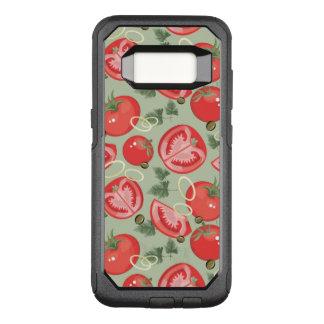 Coque Samsung Galaxy S8 Par OtterBox Commuter Motif abstrait avec la tomate