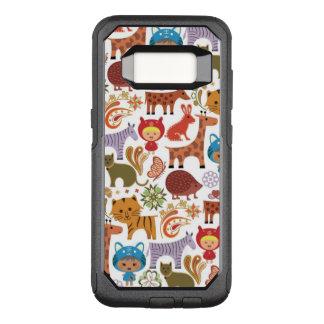 Coque Samsung Galaxy S8 Par OtterBox Commuter Motif abstrait d'enfant et d'animaux