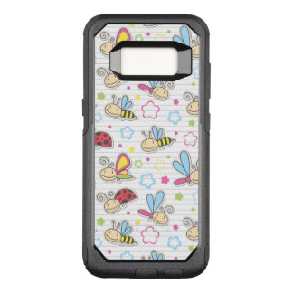 Coque Samsung Galaxy S8 Par OtterBox Commuter motif avec des insectes