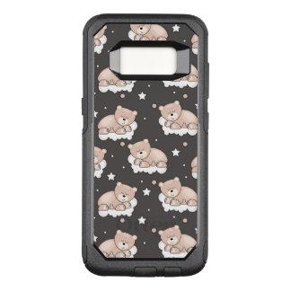Coque Samsung Galaxy S8 Par OtterBox Commuter motif avec le petit sommeil d'ours