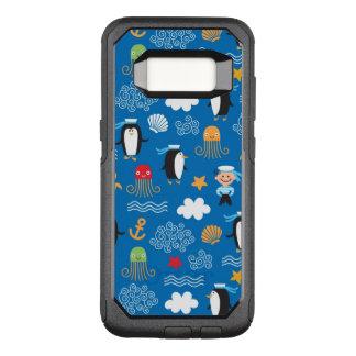Coque Samsung Galaxy S8 Par OtterBox Commuter motif avec le thème de mer