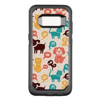 Coque Samsung Galaxy S8 Par OtterBox Commuter Motif avec les chats et les chiens drôles