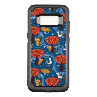 Coque Samsung Galaxy S8 Par OtterBox Commuter motif avec les chats et les oiseaux mignons