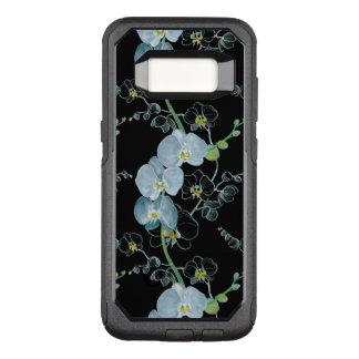 Coque Samsung Galaxy S8 Par OtterBox Commuter Motif blanc d'orchidées d'aquarelle