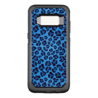 Coque Samsung Galaxy S8 Par OtterBox Commuter motif bleu de texture de léopard