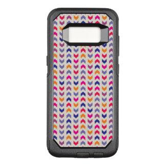 Coque Samsung Galaxy S8 Par OtterBox Commuter Motif coloré aztèque de Chevron