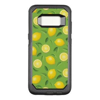 Coque Samsung Galaxy S8 Par OtterBox Commuter Motif d'arrière - plan de citrons