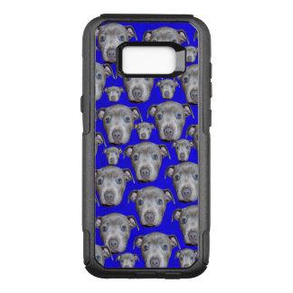Coque Samsung Galaxy S8+ Par OtterBox Commuter Motif de chiot de bull-terrier du Staffordshire,