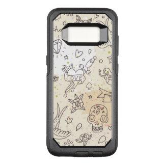 Coque Samsung Galaxy S8 Par OtterBox Commuter Motif de concept de tatouage