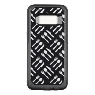 Coque Samsung Galaxy S8 Par OtterBox Commuter Motif de couteau de cuillère de fourchette