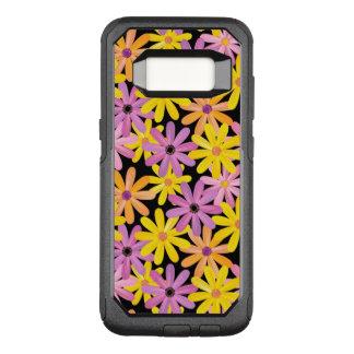 Coque Samsung Galaxy S8 Par OtterBox Commuter Motif de fleurs de Gerbera, arrière - plan
