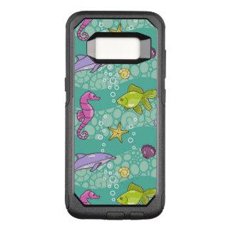 Coque Samsung Galaxy S8 Par OtterBox Commuter Motif de mer d'été