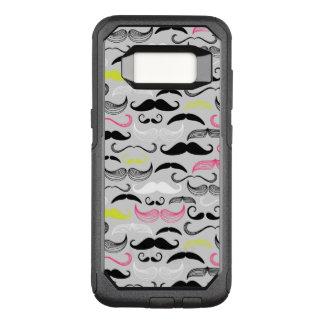 Coque Samsung Galaxy S8 Par OtterBox Commuter Motif de moustache, rétro style
