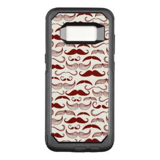 Coque Samsung Galaxy S8 Par OtterBox Commuter Motif de moustache, rétro style 3