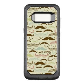 Coque Samsung Galaxy S8 Par OtterBox Commuter Motif de moustache, rétro style 4