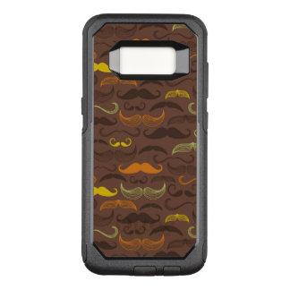 Coque Samsung Galaxy S8 Par OtterBox Commuter Motif de moustache, rétro style 5