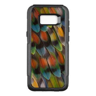 Coque Samsung Galaxy S8+ Par OtterBox Commuter Motif de plume de perruche