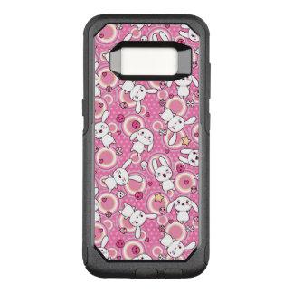 Coque Samsung Galaxy S8 Par OtterBox Commuter motif de rose de kawaii