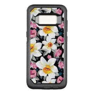 Coque Samsung Galaxy S8 Par OtterBox Commuter Motif d'élégance avec des fleurs de narcisse