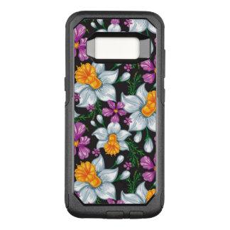 Coque Samsung Galaxy S8 Par OtterBox Commuter Motif d'élégance avec les fleurs 2 de narcisse