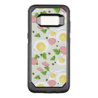 Coque Samsung Galaxy S8 Par OtterBox Commuter Motif d'oeufs et de saucisse