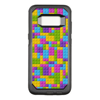 Coque Samsung Galaxy S8 Par OtterBox Commuter Motif en plastique de blocs de construction