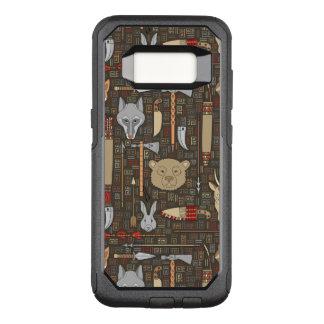 Coque Samsung Galaxy S8 Par OtterBox Commuter Motif ethnique de chasse