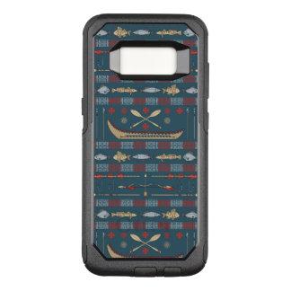 Coque Samsung Galaxy S8 Par OtterBox Commuter Motif ethnique de pêche