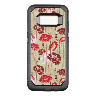 Coque Samsung Galaxy S8 Par OtterBox Commuter Motif floral 2 d'élégance abstraite