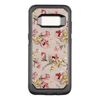 Coque Samsung Galaxy S8 Par OtterBox Commuter Motif floral 3 d'élégance abstraite