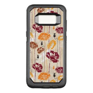 Coque Samsung Galaxy S8 Par OtterBox Commuter Motif floral 4 d'élégance abstraite