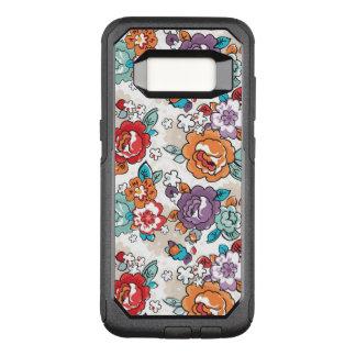 Coque Samsung Galaxy S8 Par OtterBox Commuter Motif floral 5 d'élégance abstraite