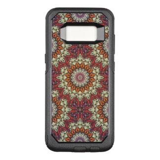 Coque Samsung Galaxy S8 Par OtterBox Commuter Motif floral ethnique abstrait coloré de mandala