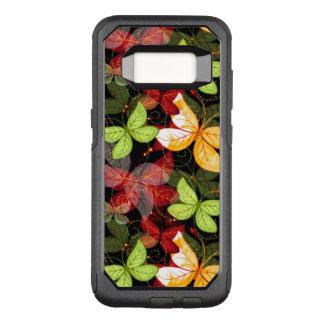 Coque Samsung Galaxy S8 Par OtterBox Commuter Motif foncé d'automne